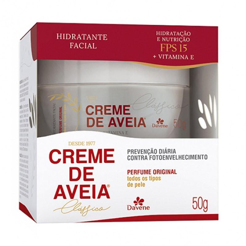 CREME HIDRATANTE AVEIA CLÁSSICO FPS15 50G - DAVENE