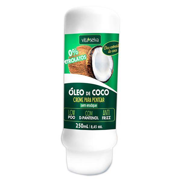 Creme Para Pentear Vita Seiva Óleo De Coco 250ml