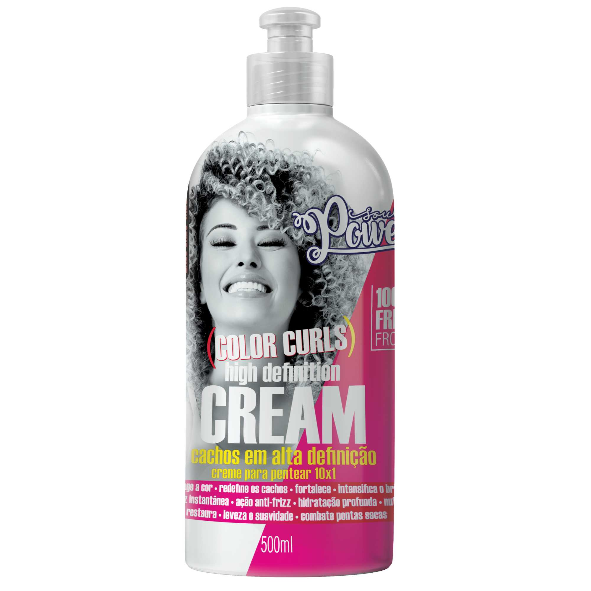 CREME PENTEAR CURLY HIGH DEFINITION - SOUL POWER 500ML