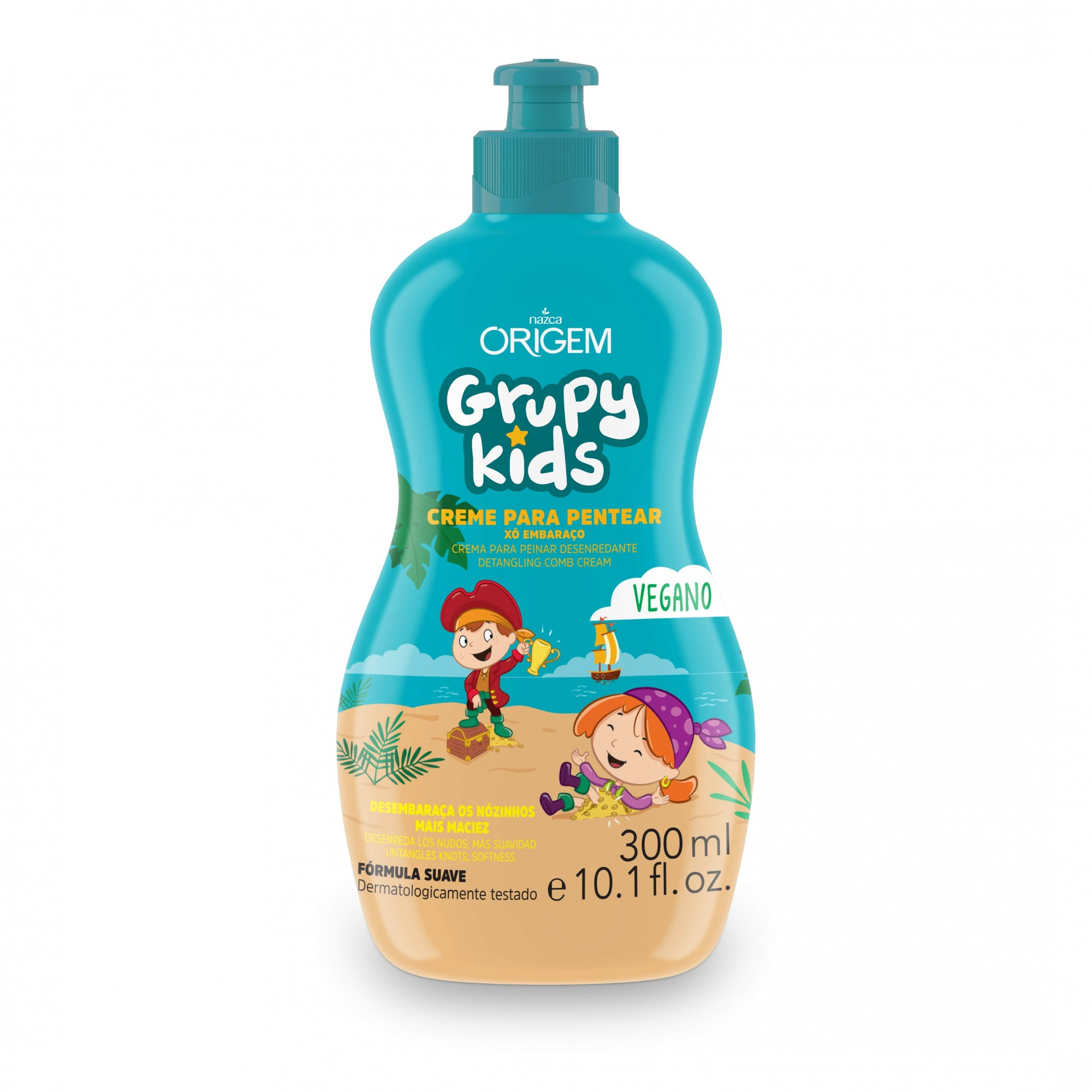 CREME PENTEAR INFANTIL GRUPY KIDS 300ML XO EMBARAÇO