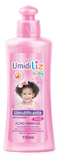 CREME PENTEAR UMIDILIZ BABY 150ML MENINA