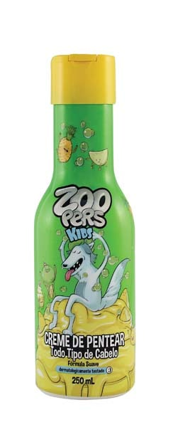 CREME PENTEAR  ZOOPERS 250ML TODO TIPO CABEL
