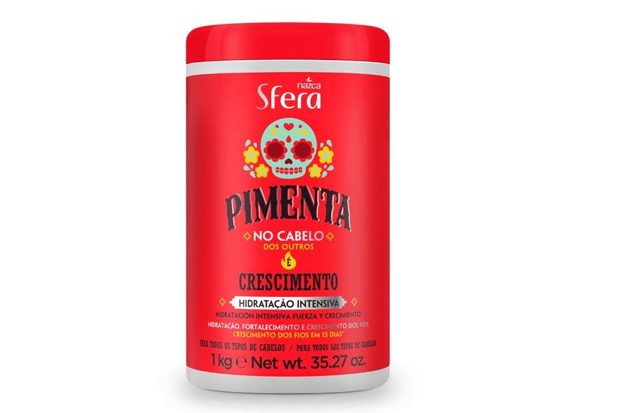 CREME POTE SFERA 1KG PIMENTA CRESCIMENTO
