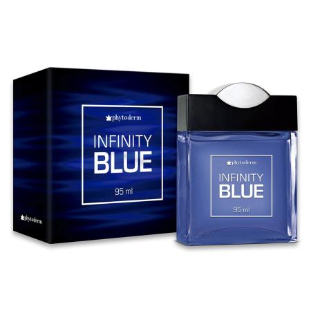 DEO COLÔNIA MASCULINA INFINITY BLUE 95ML - PHYTODERM
