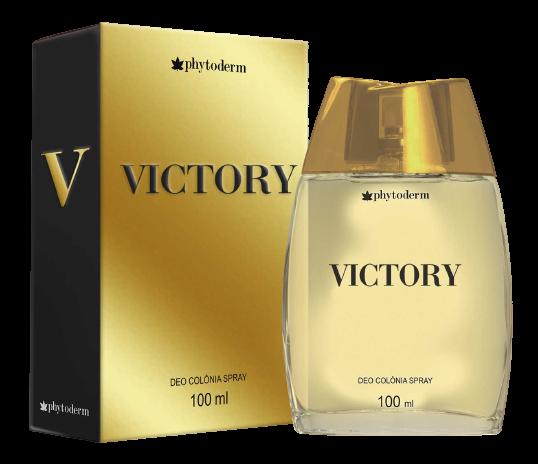 DEO COLÔNIA MASCULINA VICTORY 100ML - PHYTODERM