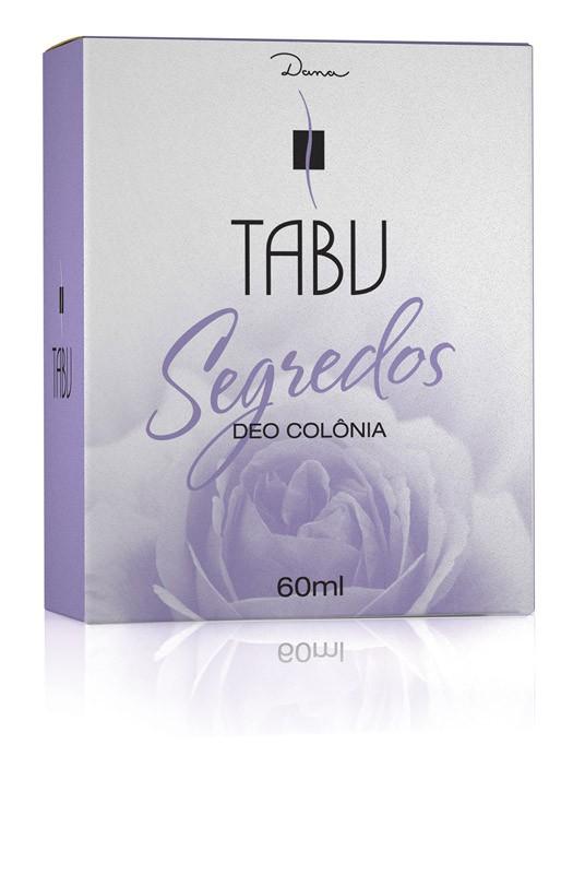 DEO COLONIA TABU 60ML SEGREDOS