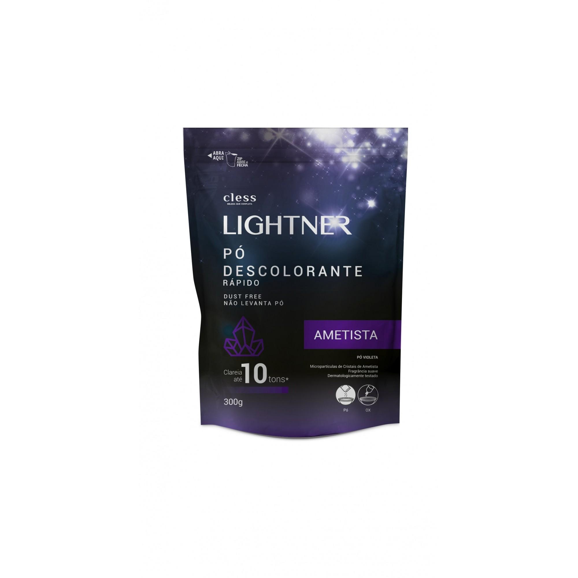 DESCOLORANTE LIGHTNER PO 300G AMETISTA