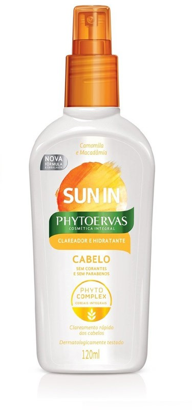 DESCOLORANTE SPRAY SUN IN CAPILAR - PHYTOERVAS 120ML