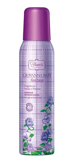 DESODORANTE AEROSOL FANTASY 150ML - GIOVANNA BABY