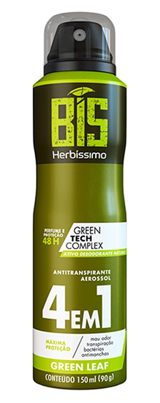 DESODORANTE ANT. BIS HERB ANTITRANSP 150ML GREEN LEAF