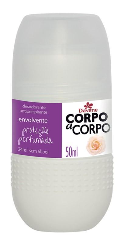 DESODORANTE ROLL ON DAVENE CORPO A CORPO 50ML ENVOLV