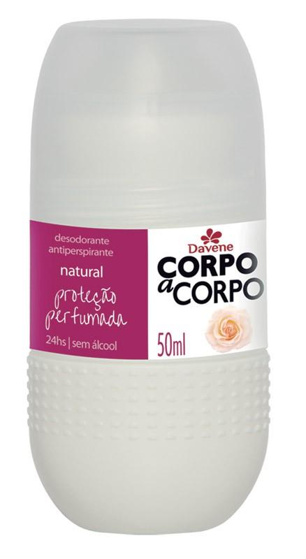 DESODORANTE ROLL ON DAVENE CORPO A CORPO 50ML NATURA