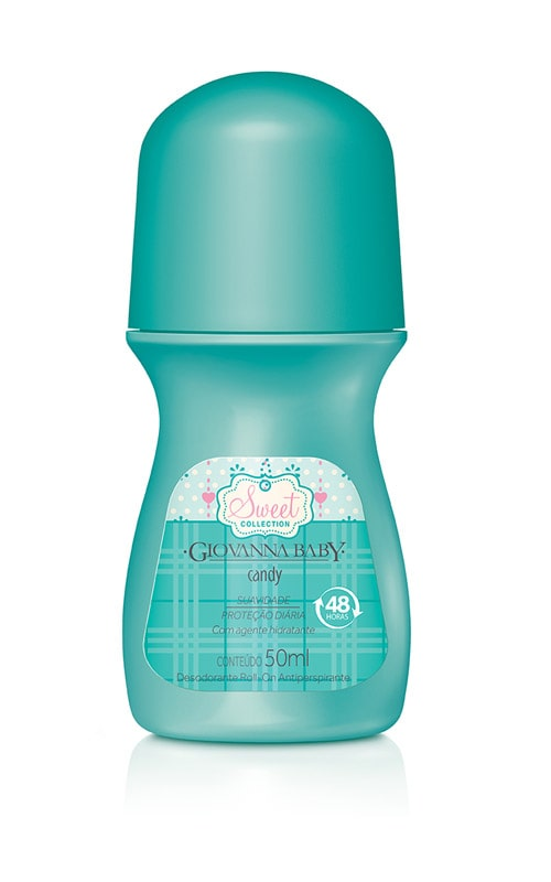 DESODORANTE ROLL ON GIOVANNA BABY 50ML CANDY