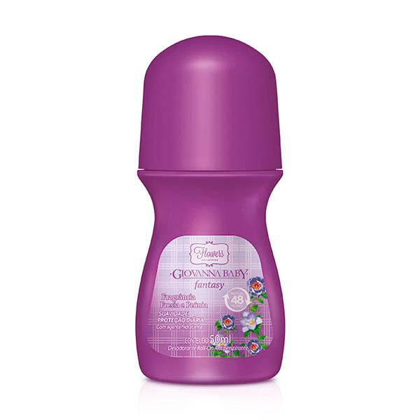 DESODORANTE ROLL ON GIOVANNA BABY 50ML FANTASY