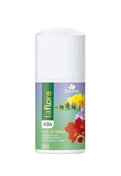 Desodorante Roll On La Flore Flor Fresia 50ml - Davene