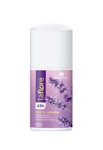 Desodorante Roll On La Flore Flor Lavanda 50ml - Davene