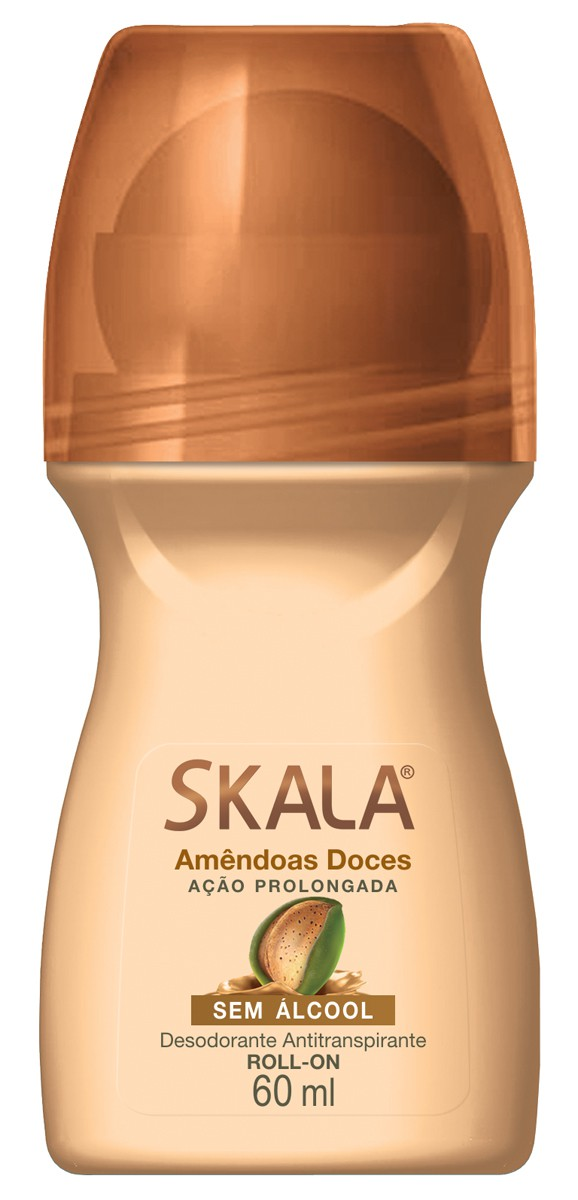 DESODORANTE SKALA  60ML AMENDOAS DOCES