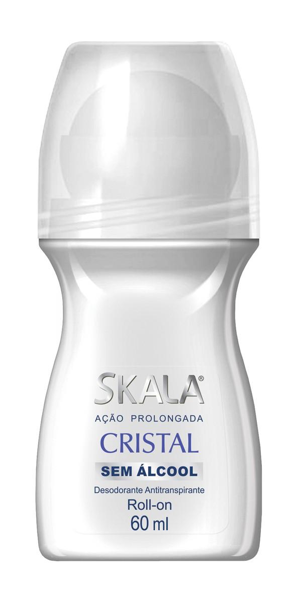 DESODORANTE ROLL ON CRISTAL 60ML - SKALA