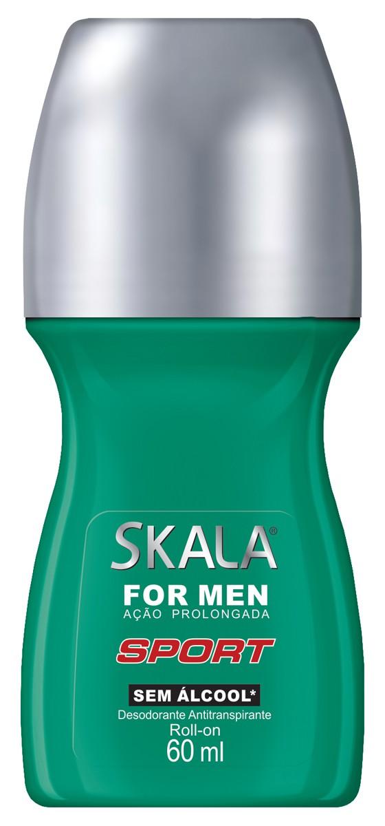 DESODORANTE ROLLON FOR MEN SPORT 60ML - SKALA