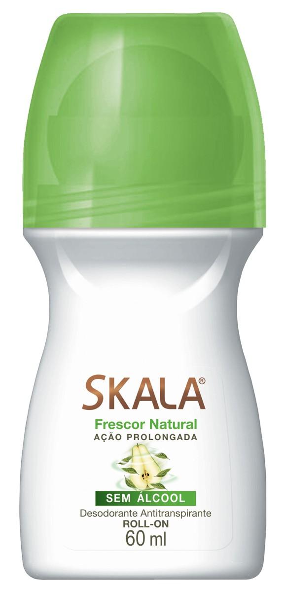 DESODORANTE ROLL ON FRESCOR NATURAL 60ML - SKALA