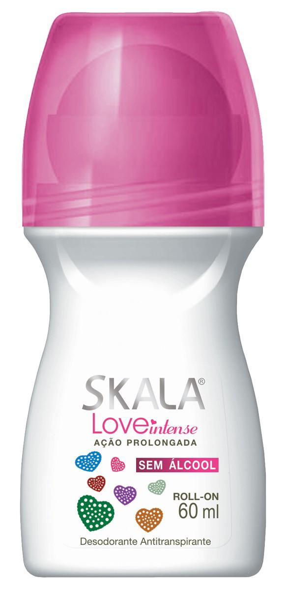 DESODORANTE ROLL ON LOVE INTENSE 60ML - SKALA