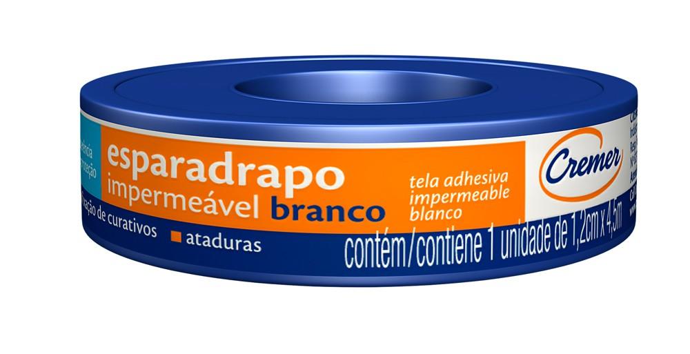 ESPARADRAPO IMPER CREMER1,2X4,5 UN