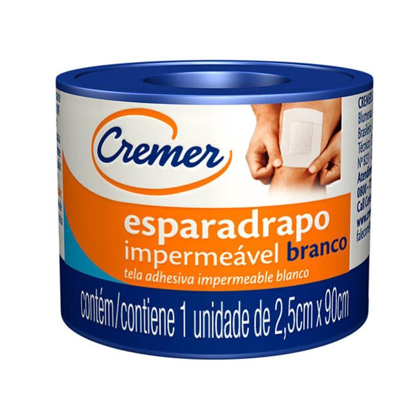 ESPARADRAPO IMPER CREMER 2,5X90 UN