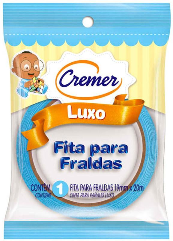 FITA FRALDA CREMER AZUL 19MMX20M