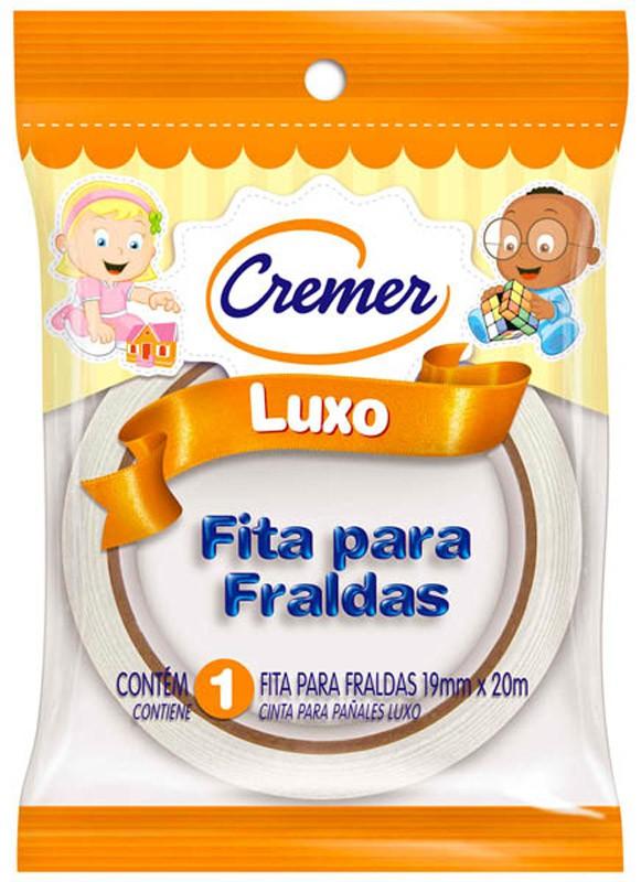 FITA FRALDA CREMER BRANCA 19MMX20M
