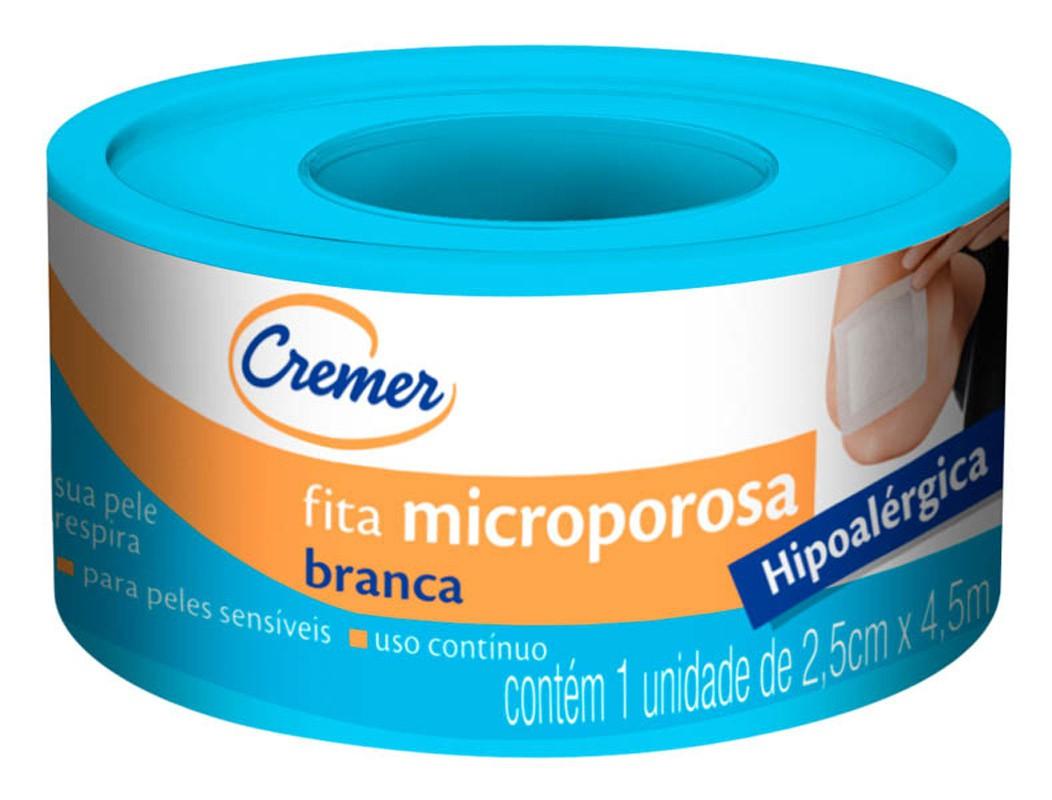 FITA MICROPOROSA CREMER 2,5X4,5 UN