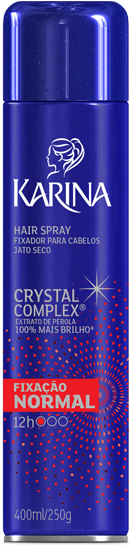 FIXADOR SPRAY KARINA 400ML NORMAL