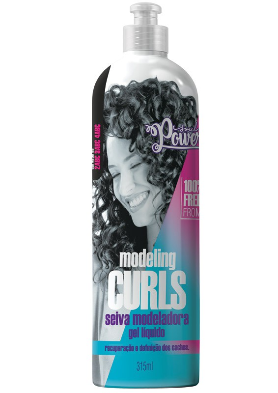 GEL LIQUIDO SEIVA MODELADORA - SOUL POWER 315ML