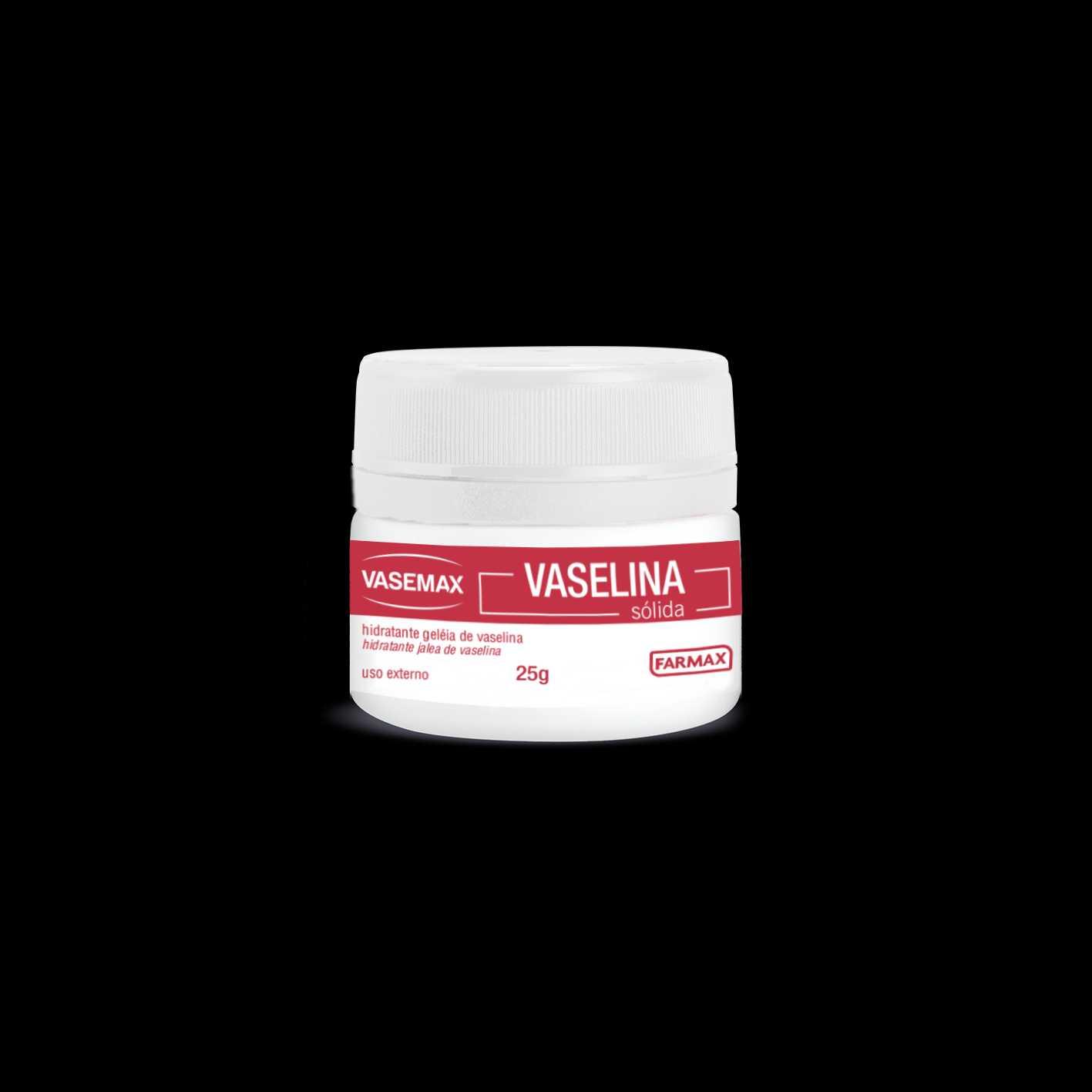 HIDRATANTE GELEIA DE VASELIN VASEMAX 25G - FARMAX