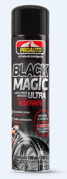 Limpa Pneus Proauto Black Magic