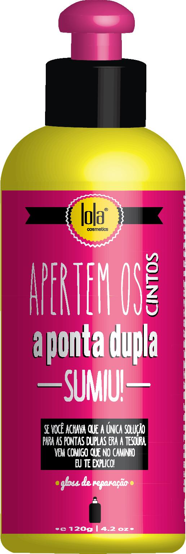 GLOSS APERTEM OS CINTOS A PONTA DUPLA SUMIU 120ML - LOLA