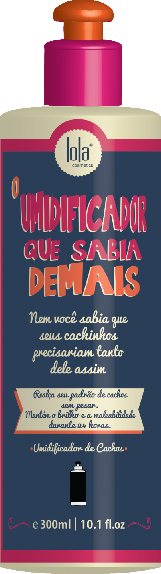 O UMIDIFICADOR QUE SABIA DEMAIS 300ML - LOLA