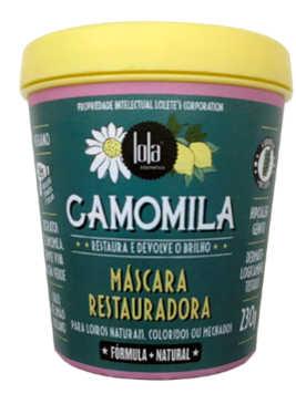 Máscara Camomila Restauradora 230g Lola Cosmetics