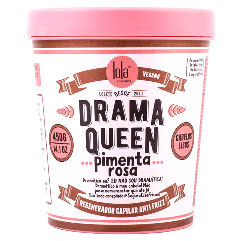 Máscara Drama Queen Pimenta Rosa - Lola 450g