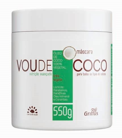 MASCARA GRIFFUS 550G VOU DE COCO