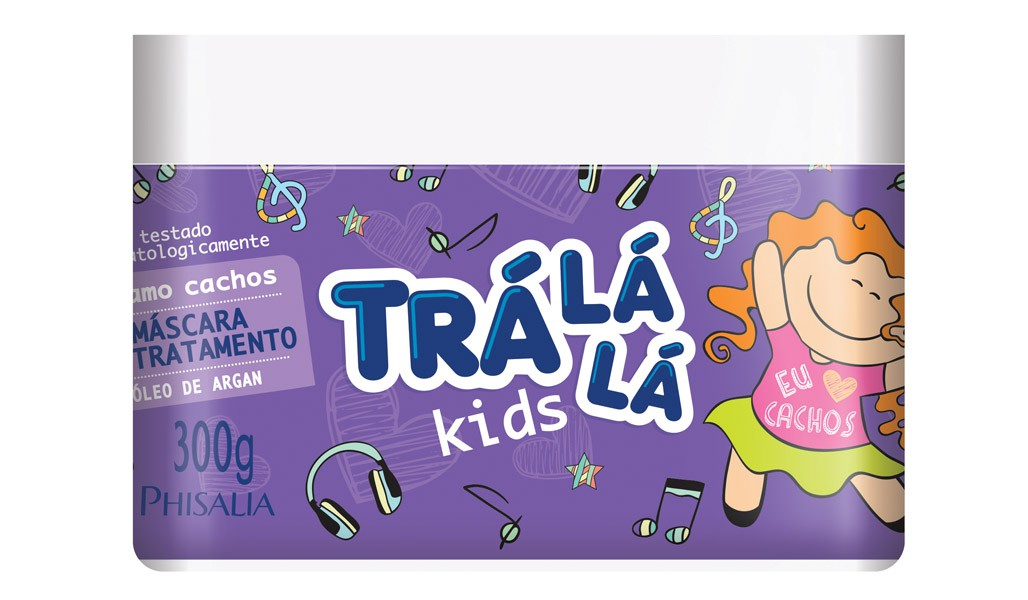 MASCARA INFANTIL TRALALA 300G CACHOS