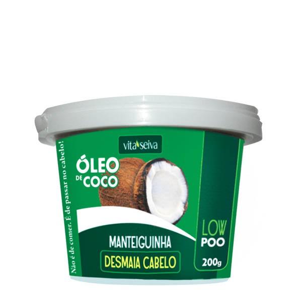 MÁSCARA MANTEIGUINHA ÓLEO DE COCO 200G - VITA SEIVA