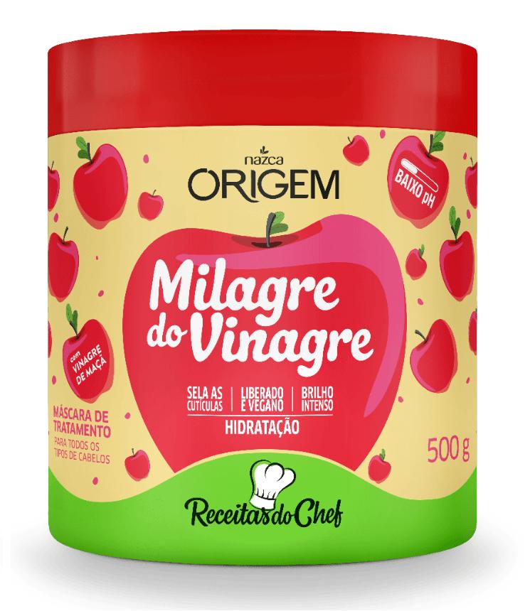 Mascara Milagre Do Vinagre 500g - Origem