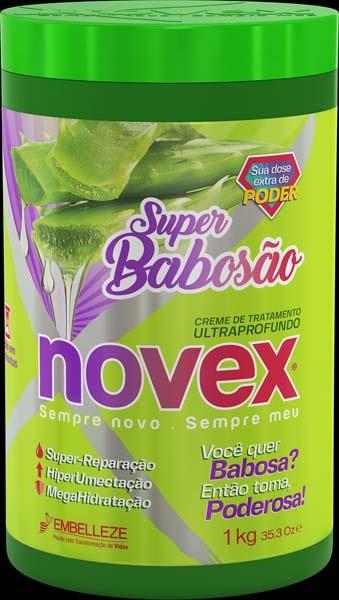 MASCARA NOVEX 1KG SUPER BABOSAO