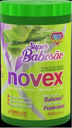 MASCARA NOVEX 400G SUPER BABOSAO