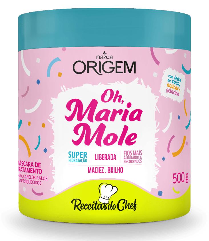 Mascara Oh Maria Mole 500g - Origem