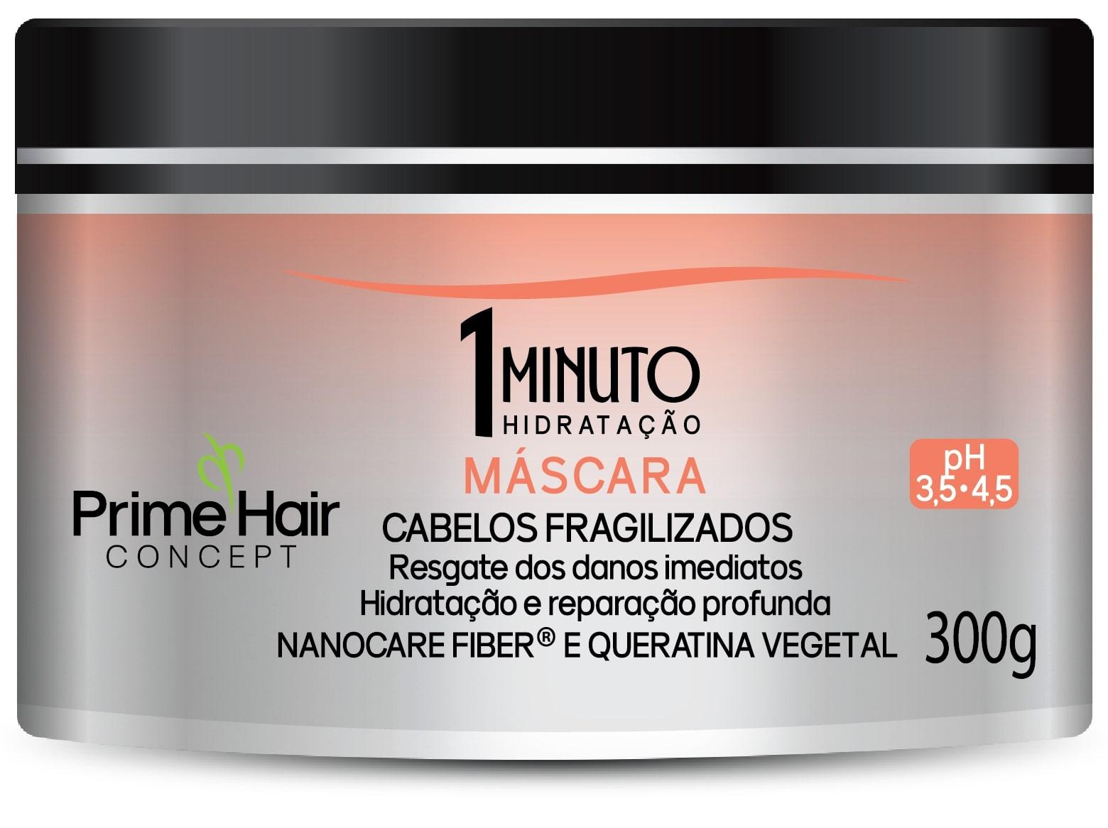 MASCARA PRIME HAIR 300G 1MINUTO CAB FRAGILI