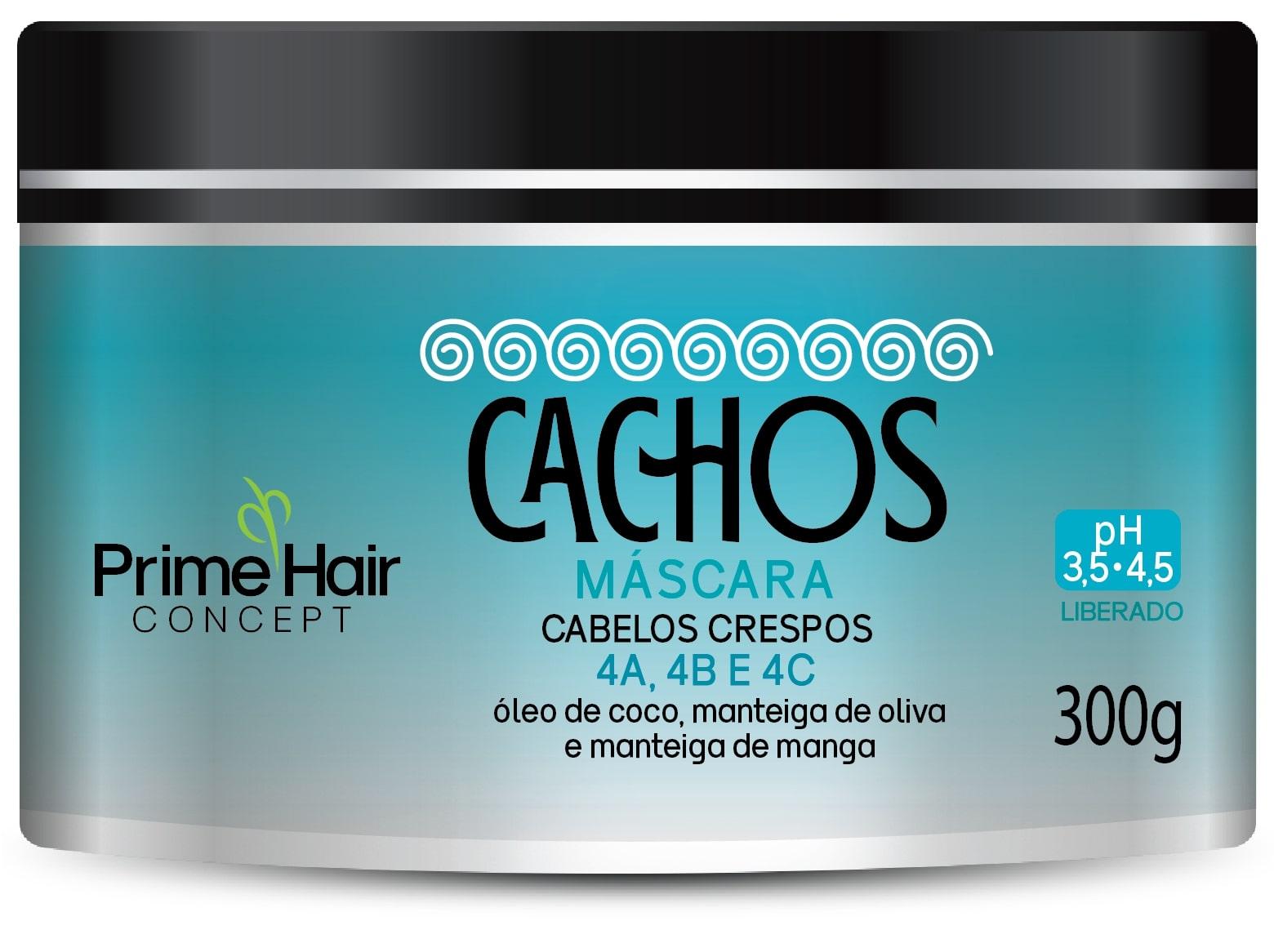MASCARA PRIME HAIR 300G CACHOS-CACHOS CREPO