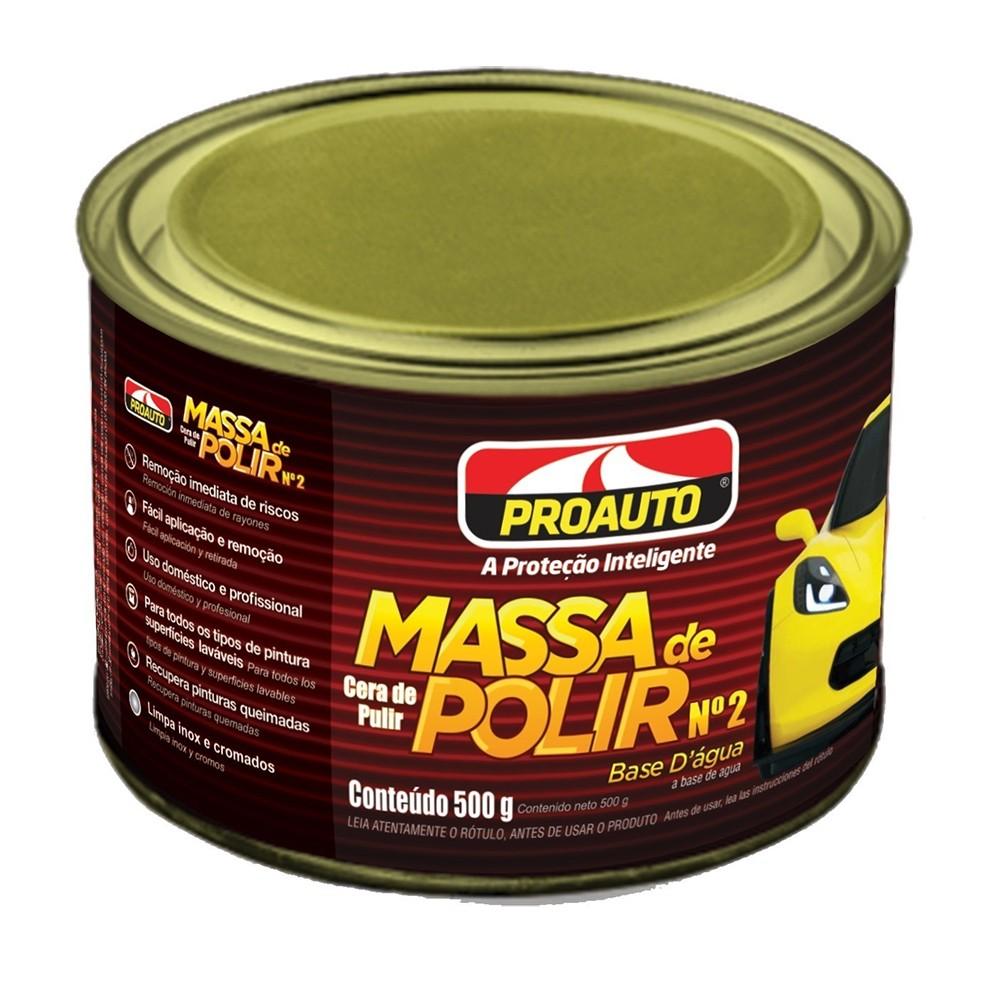 MASSA DE POLIR Nº2 - PROAUTO