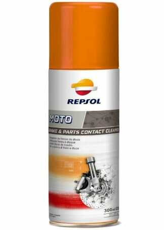 MOTO BRAKE E PARTS CONTACT CLEANER 300ML/230G - REPSOL