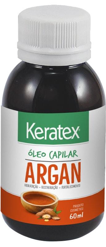 ÓLEO CAPILAR KERATEX ARGAN 60ML - FIXED